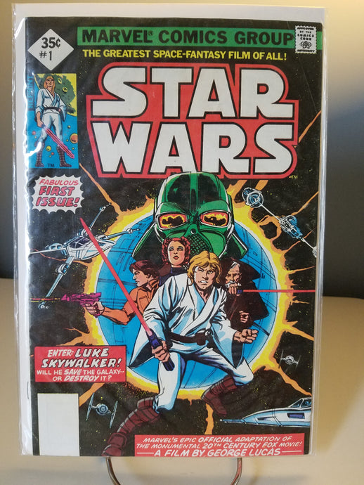 REPRINT 1977 Star Wars Marvel Comic Book #1