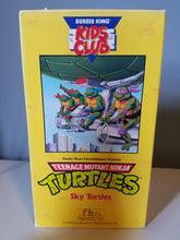 Load image into Gallery viewer, 1990 TMNT Sky Turtles Burger King VHS