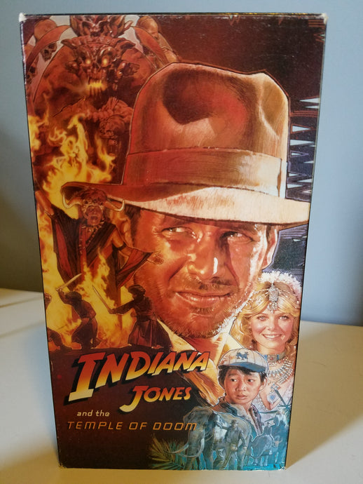 1984 Indiana Jones and the Temple Of Doom VHS