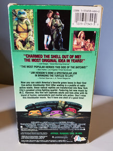1990 Teenage Mutant Ninja Turtles The Movie VHS