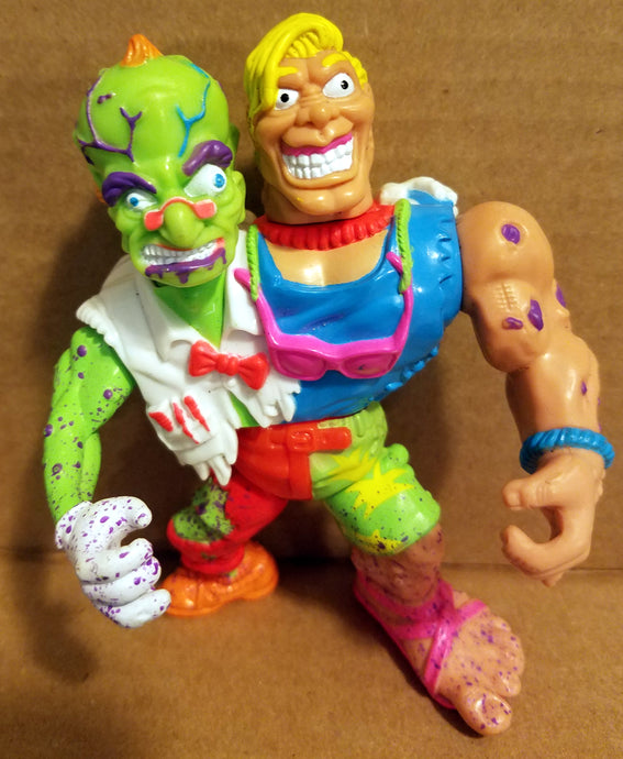 1991 Toxic Crusaders Loose Headbanger Figure