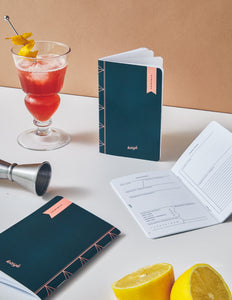 «COCKTAILS» notebook / Cahier «COCKTAILS»