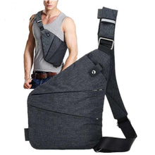 Load image into Gallery viewer, men's cross-body chest bag