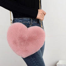 Load image into Gallery viewer, faux fur hand bag