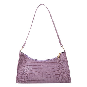 women's purple handbag