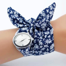 Load image into Gallery viewer, Blue wrap around watch
