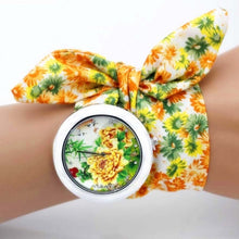 Load image into Gallery viewer, sunflower floral watch