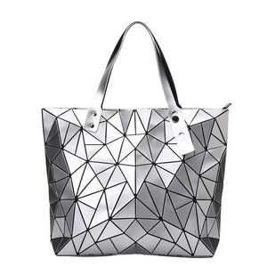 Geometric Hologram Shoulder Bag