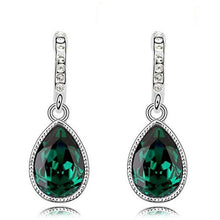 Load image into Gallery viewer, green earrings