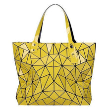 Load image into Gallery viewer, yellow geometric shoulder bag