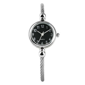 Women's Bracelet Silver Slim Watch