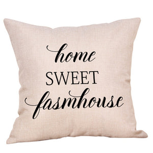 home sweet cushion cover