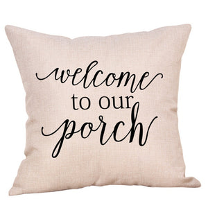 quotes cushion covers