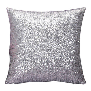 glitter cushion covers