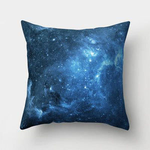 starry space cushion cover