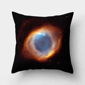 space throw pillow cover