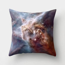 Load image into Gallery viewer, space throw pillow cover