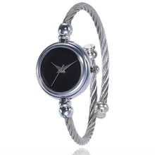 Load image into Gallery viewer, Women's Bracelet Silver Slim Watch