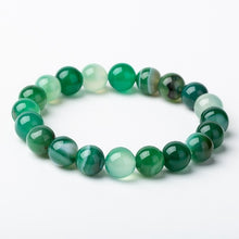 Load image into Gallery viewer, green beaded bracelet