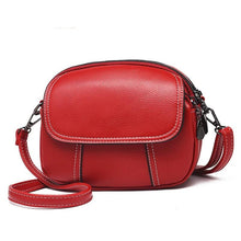 Load image into Gallery viewer, red shoulder handbag