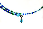 Single-Strand Choker Necklace of Seed Beads