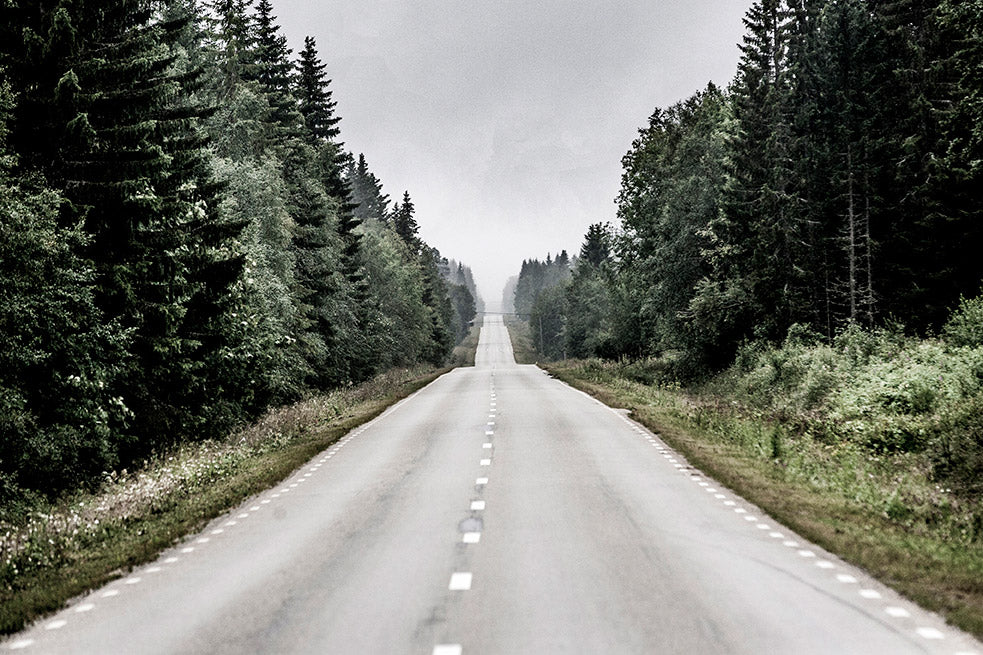 The road from Östersund to Vemdalen