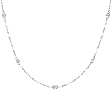Diamond Strings Necklace