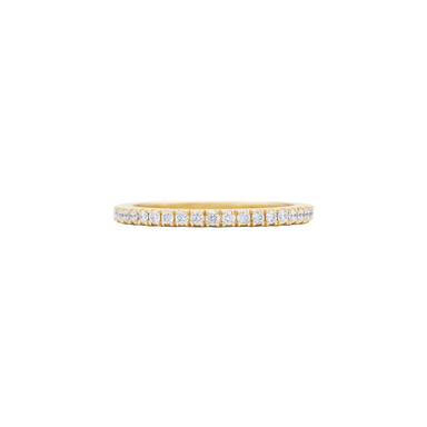 Slim Stackable Diamond Eternity Band