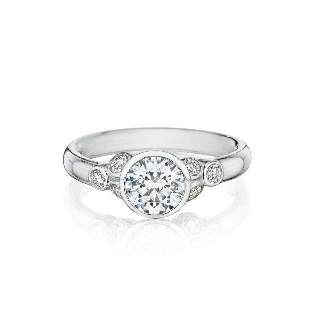 14K White Gold Traditional Setting