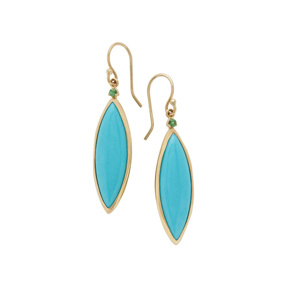 Prisma Turquoise Earrings