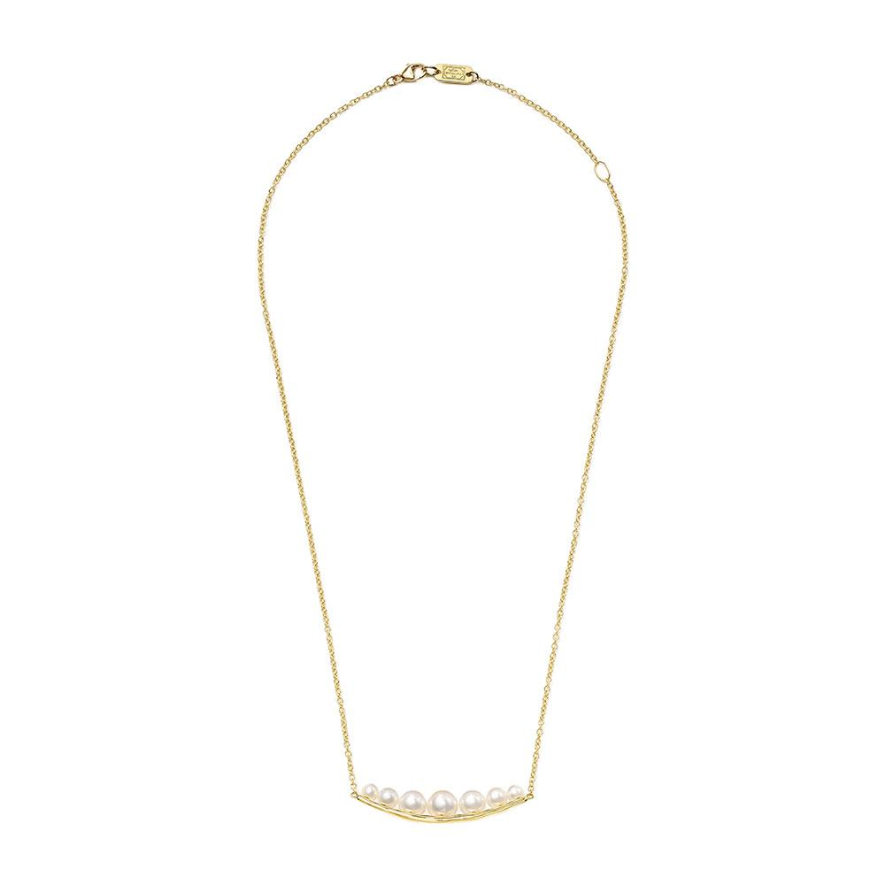 Nova Pearl Trapeze Necklace