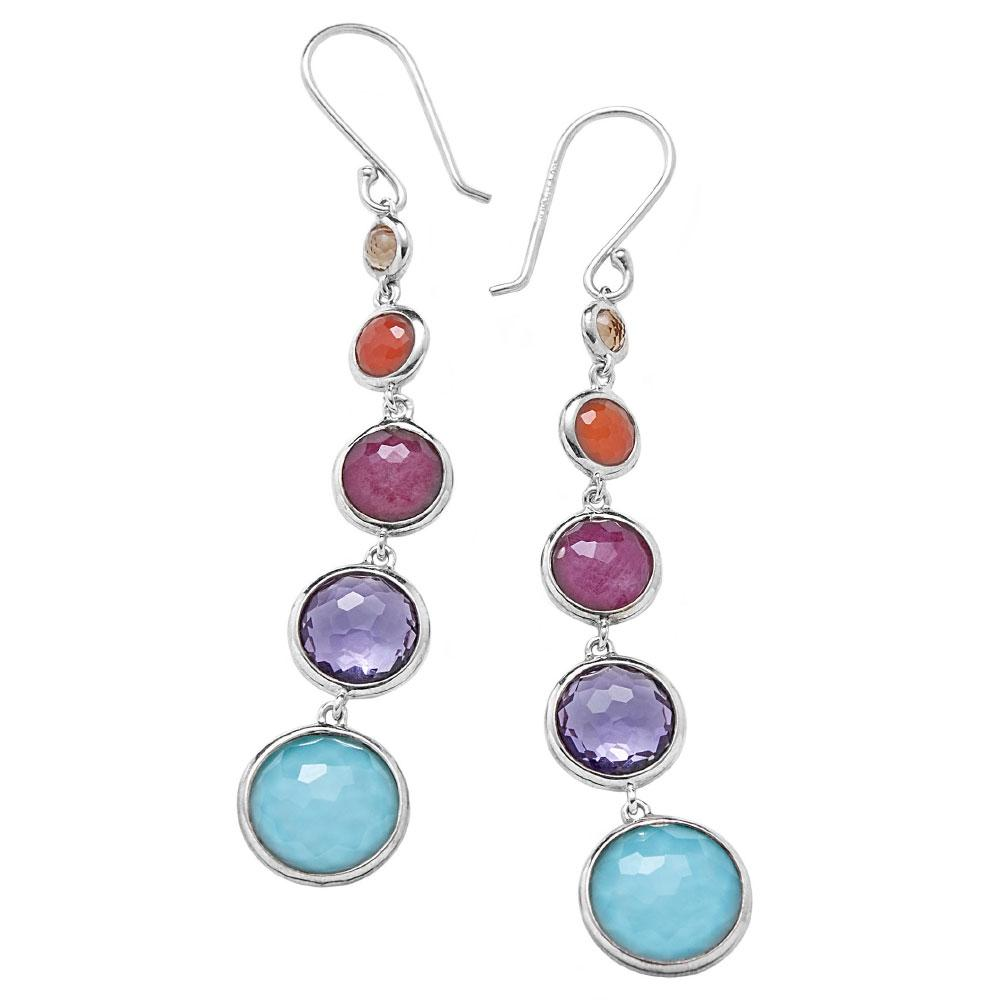 Lollitini Multi-Stone Earrings