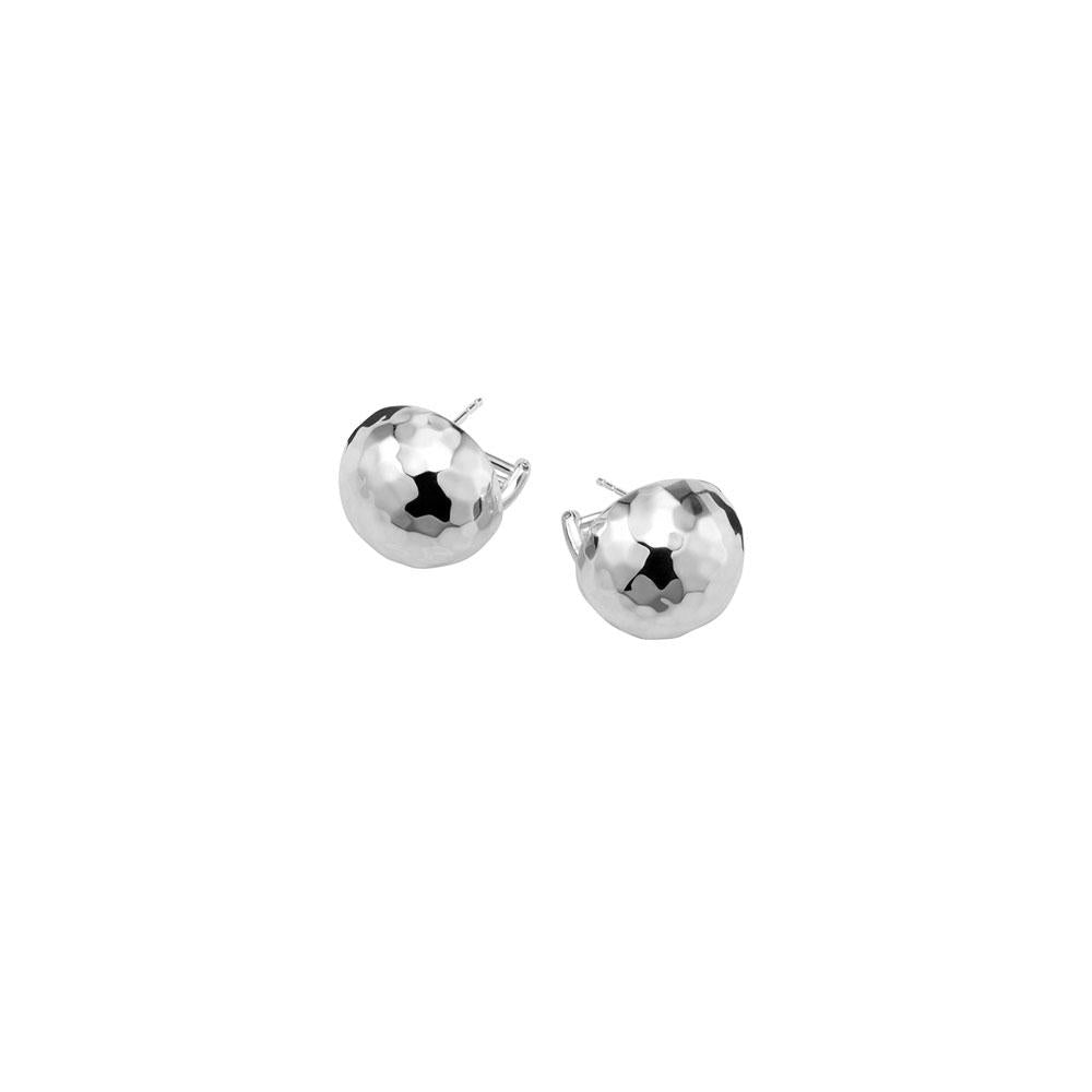 Classico Hammered Pinball Earrings