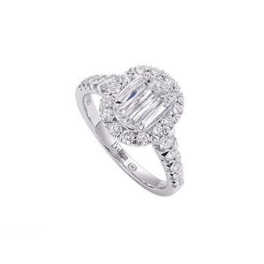 L'Amour Crisscut® Diamond Engagement Ring 225