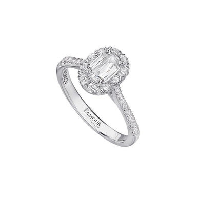 L'Amour Crisscut® Diamond Engagement Ring 108