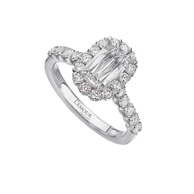 L'AMOUR CRISSCUT® DIAMOND ENGAGEMENT RING 101