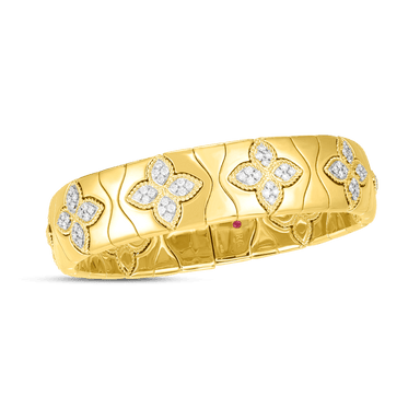 Royal Princess Flower Flex Bangle