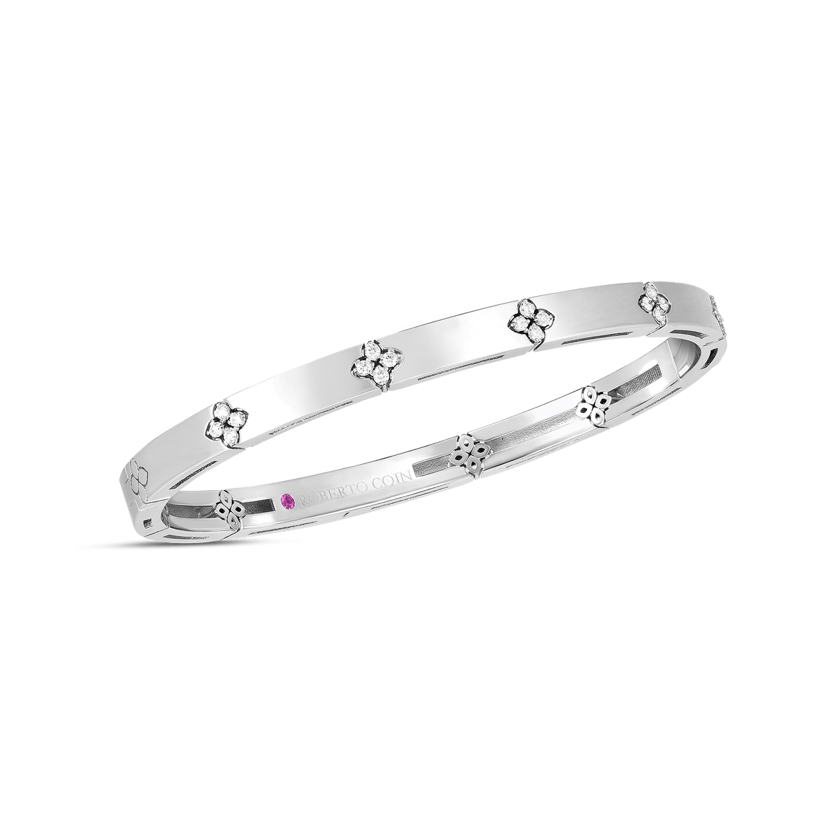Diamond Love in Verona Narrow Bangle