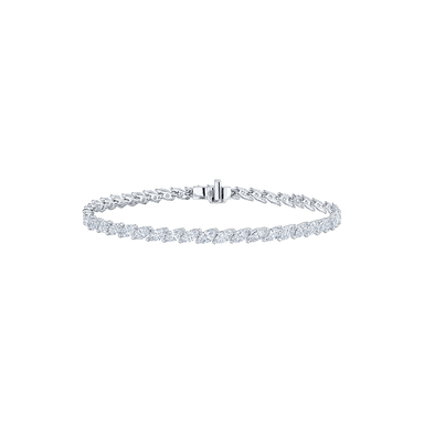 Marquise Diamond Eclipse Line Bracelet