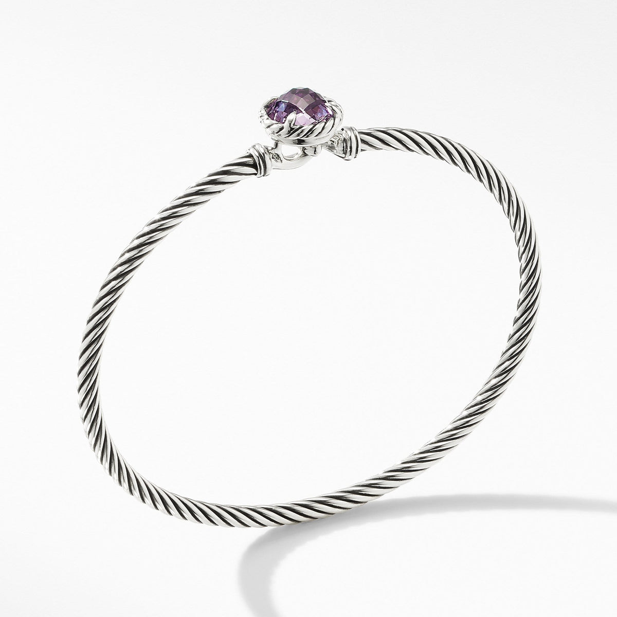 Chatelaine Bracelet with Amethyst