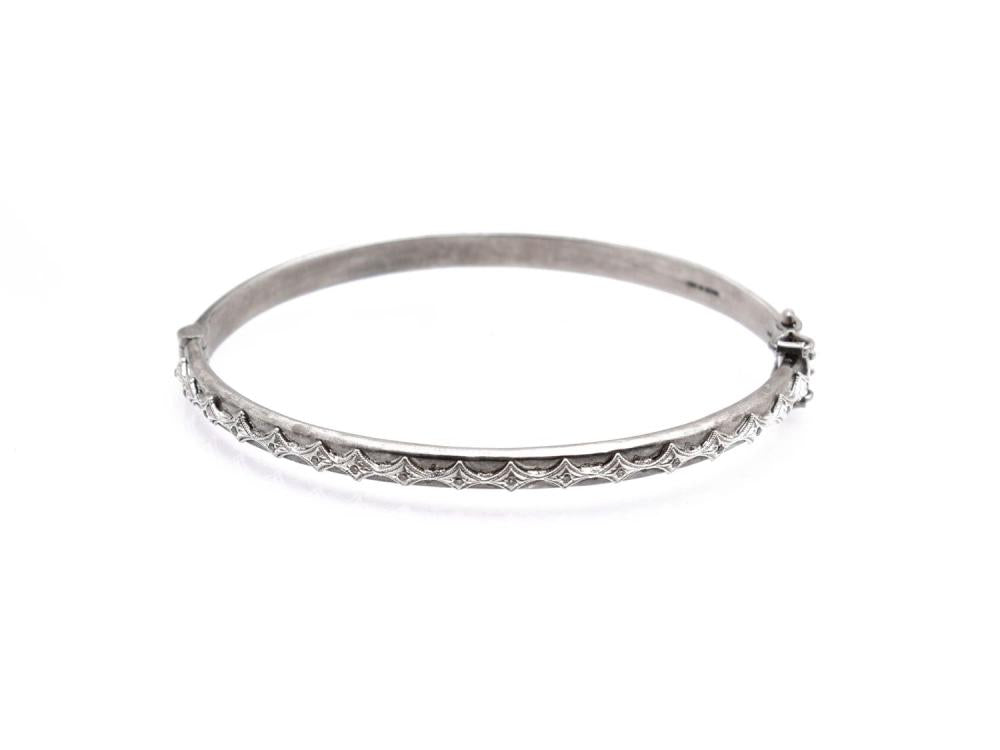 Stslvr Champagne Diamond New World Crivelli Bracelet