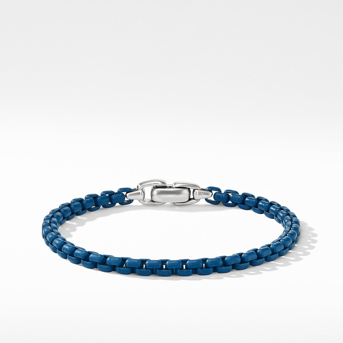 Box Chain Bracelet in Blue