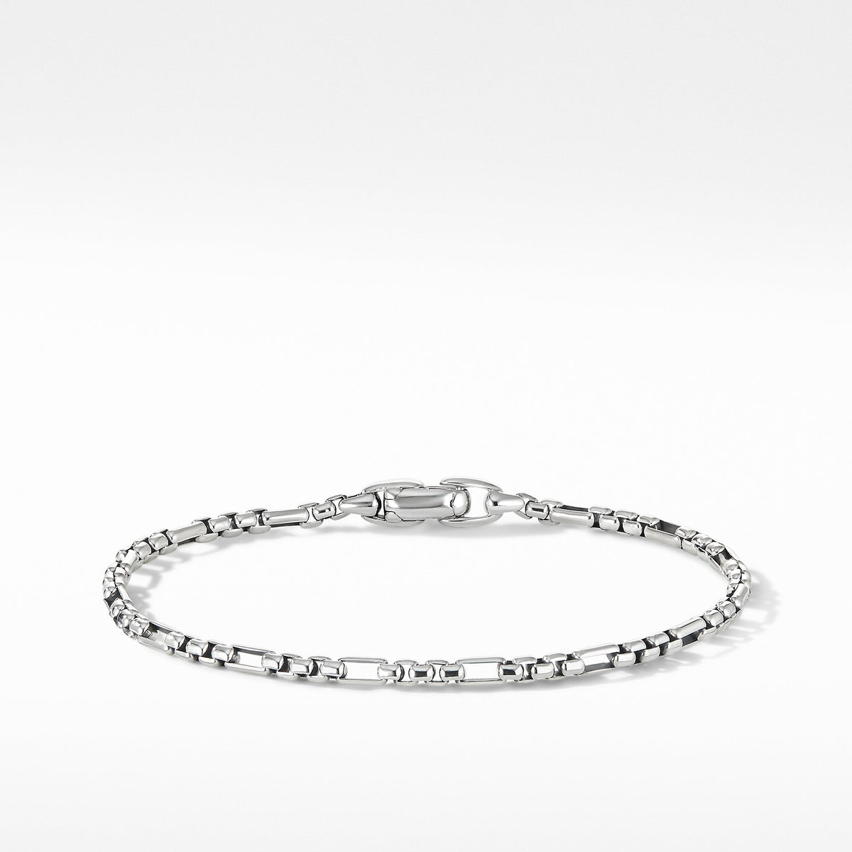 Open Station Box Chain Bracelet