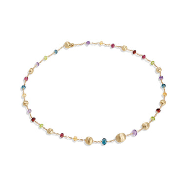 Africa Bead Gemstone Necklace