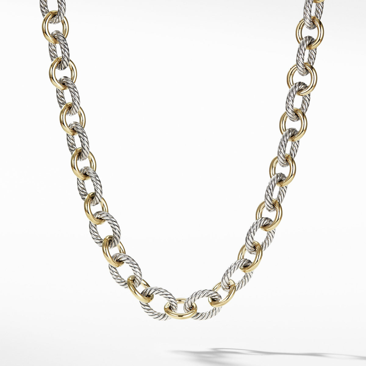 Chain Necklace with 18K Gold