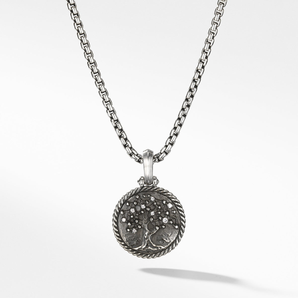 Tree of Life Amulet with Diamonds