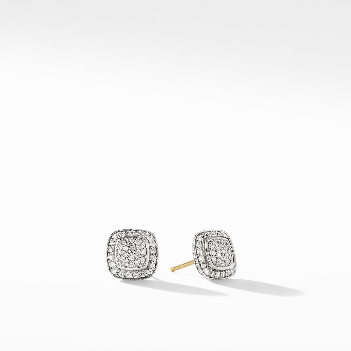 Petite Albion Full Pave Earrings