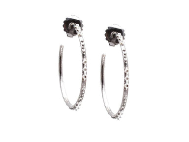 Stslvr New World Crivelli Hoop Earrings
