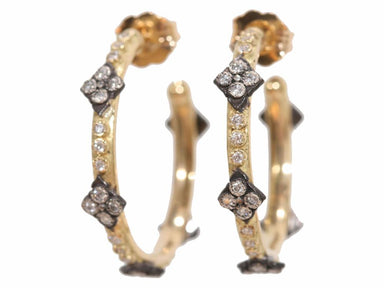 Stslvr/ Crivelli Cro Hoop Earrings