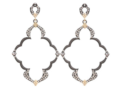 Stslvr/ Dulcinea Open Frame Earrings